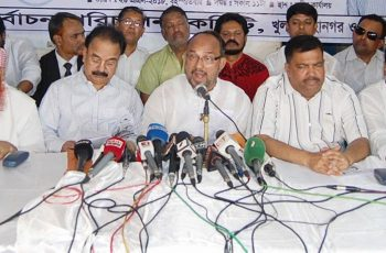 Khulna City Corporation polls: BNP mayoral candidate suspends campaign