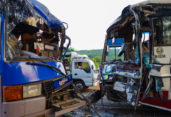 5 killed as two buses collide in Pabna