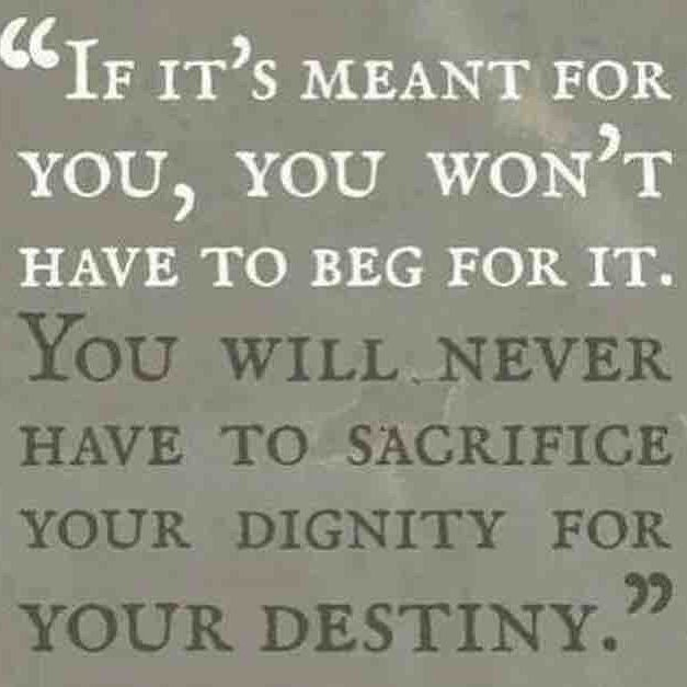 The meaning of sacrifice