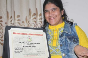 Journey of a young girl with disability