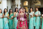 Be a perfect bridesmaid while attending winter wedding