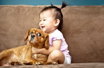 Growing up with pets leads to better childhood