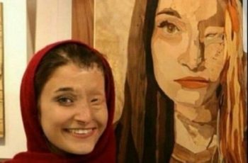 Iran acid attack victimsfind new identity in art
