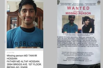 Missing Bangladeshi student found in New York after five days