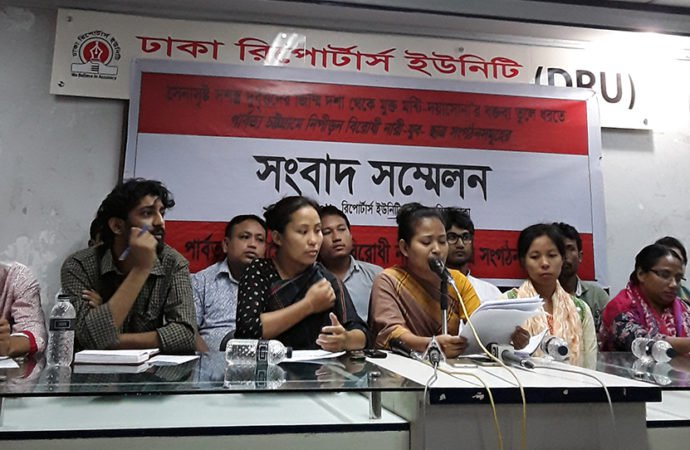 Chakma women's leader names kidnappers