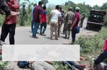 Five gunned down, eight injured in Rangamati