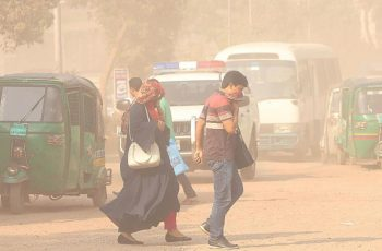 Dhaka air ranked world's 3rd most polluted: WHO