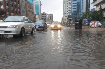 Rain drenches Dhaka, might linger for next few days