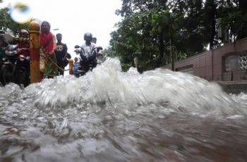 Drainage system fails to deliver