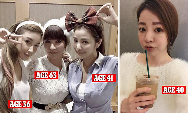 Looking younger than age can be a problem too