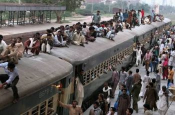 Eid train ticket sale begins amid technical glitch