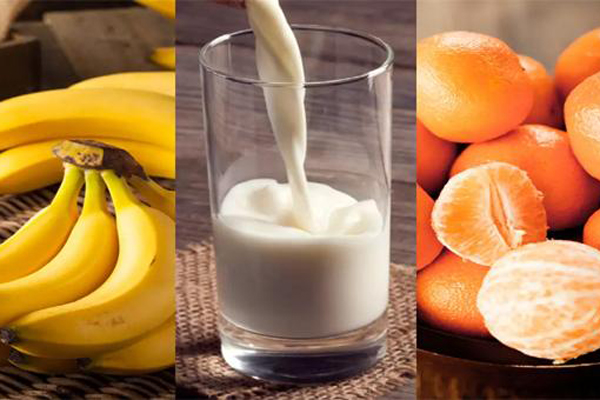 Which foods you should never have with milk